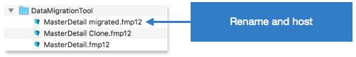 FileMaker Data Migration Tool Screenshot 3