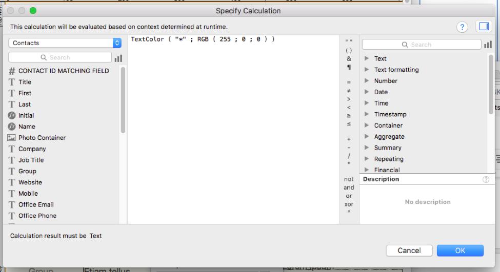 Fill in Fields in FileMaker Pro