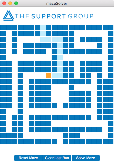 Fun with FileMaker Pro - maze solver
