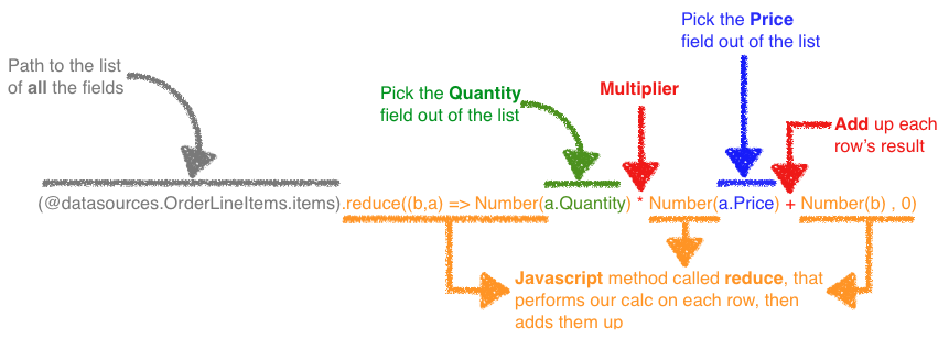 App Maker calculations screenshot 3