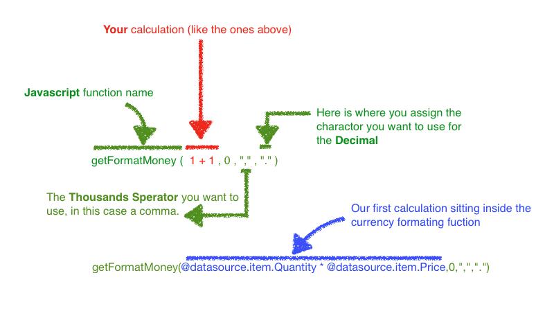 App Maker calculations screenshot 5