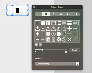 How to use Material Design icons in FileMaker Pro