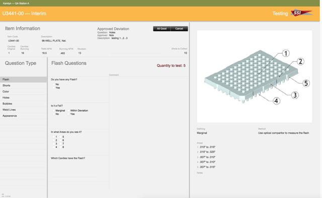 SSIbio custom FileMaker application