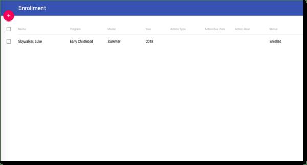 Education Enrollment Management App screenshot 1