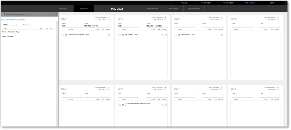 Track Inventory and Manage Schedules Using the FileMaker