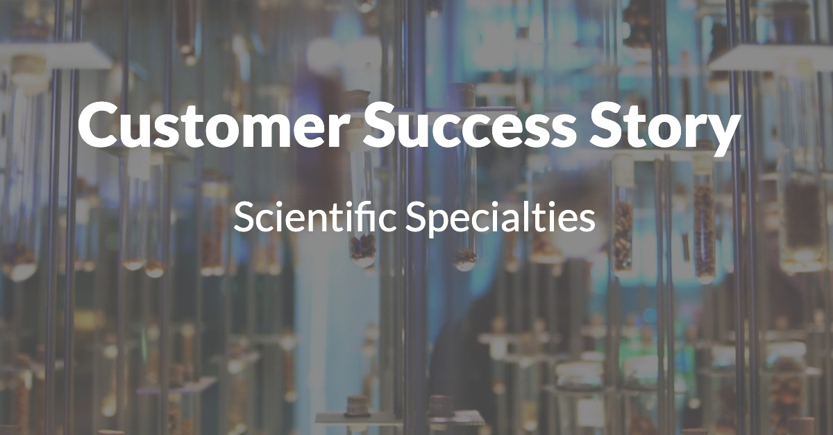 Scientific Specialties Customer Success Story 1200x628